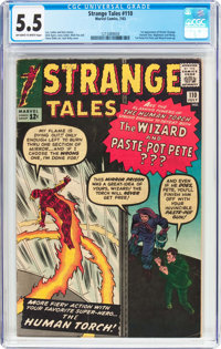 Strange Tales #110 (Marvel, 1963) CGC FN- 5.5 Off-white to white pages