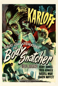 "The Body Snatcher (RKO, 1945). One Sheet (27"" X 41"")"