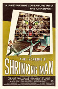 "Movie Posters:Science Fiction, The Incredible Shrinking Man (Universal International, 1957). OneSheet (27"" X 41""). Reynold Brown Artwork.. ..."
