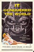 "Movie Posters:Science Fiction, It Conquered the World (American International, 1956). One Sheet (27"" X 41""). Science Fiction.. ..."