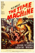"Movie Posters:Science Fiction, The Time Machine (MGM, 1960). One Sheet (27"" X 41""). Reynold BrownArtwork.. ..."