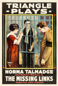 "Movie Posters:Mystery, The Missing Links (Triangle, 1916). One Sheet (28"" X 41.25"").Mystery.. ..."