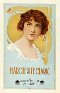 """Marguerite Clark (Paramount, Late 1910s). Stock Personality Poster (26.75"""" X 41.25"""")"""