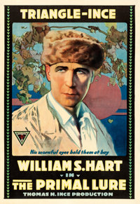 """The Primal Lure (Triangle-Ince, 1916). One Sheet (27"""" X 41"""")"""