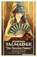 "Movie Posters:Drama, The Passion Flower (First National, 1921). One Sheet (27"" X 41"")Portrait Style.. ..."
