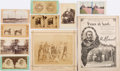 Photography:Stereo Cards, Ulysses S. Grant: Assorted Memorial Ephemera....
