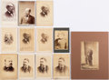 Political:Small Paper (pre-1896), James Garfield, Chester A. Arthur and Grover Cleveland: CabinetCards and More....