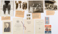 Political:Small Paper (1896-present), Warren G. Harding and Herbert Hoover: Photographs and CampaignEphemera....