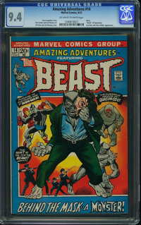 Amazing Adventures #14 (Marvel, 1972) CGC NM 9.4 Off-white to white pages