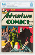 Golden Age (1938-1955):Superhero, Adventure Comics #60 (DC, 1941) CBCS Restored (Slight) FN+ 6.5 Off-white to white pages....