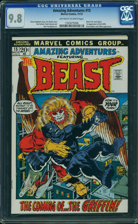 Amazing Adventures #15 (Marvel, 1972) CGC NM/MT 9.8 Off-white to white pages