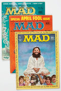 Magazines:Mad, MAD Magazine Short Box Group (EC, 1950s-70s) Condition: Average FN....