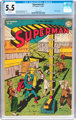Superman #31 (DC, 1944) CGC FN- 5.5 White pages