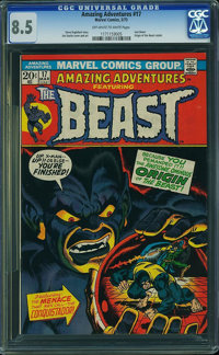 Amazing Adventures #17 (Marvel, 1973) CGC VF+ 8.5 Off-white to white pages