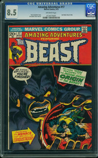 Amazing Adventures #17 (Marvel, 1973) CGC VF+ 8.5 Off-white pages
