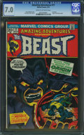 Bronze Age (1970-1979):Superhero, Amazing Adventures #17 (Marvel, 1973) CGC FN/VF 7.0 Cream to off-white pages.