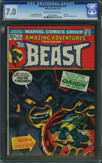 Amazing Adventures #17 (Marvel, 1973) CGC FN/VF 7.0 Cream to off-white pages