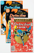 Modern Age (1980-Present):Superhero, Detective Comics #501-600 Box Lot (DC, 1981-95) Condition: AverageNM-....
