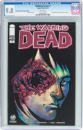 Modern Age (1980-Present):Horror, The Walking Dead #1 Wizard World Des Moines Edition (Image, 2015)CGC NM/MT 9.8 White pages....