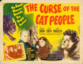 "Movie Posters:Horror, The Curse of the Cat People (RKO, 1944). Half Sheet (22"" X 28"")Style B.. ..."