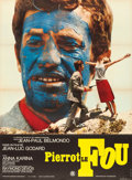 "Movie Posters:Foreign, Pierrot le fou (Pathé, 1965). French Grande (45.5"" X 62"").. ..."