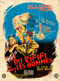 """Movie Posters:Foreign, Rififi (CFR, R-1960s). French Grande (46.5"""" X 62"""") J. Mayo Artwork.. ..."""