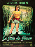 "Movie Posters:Foreign, Woman of the River (Columbia, 1957). French Grande (45"" X 60.5"") Jean Mascii Artwork.. ..."