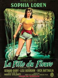 "Woman of the River (Columbia, 1957). French Grande (45"" X 60.5"") Jean Mascii Artwork"