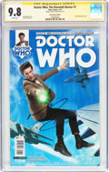 Modern Age (1980-Present):Science Fiction, Doctor Who: The Eleventh Doctor #7 Subscription Edition - SignatureSeries (Titan Comics, 2015) CGC NM/MT 9.8 White pages....