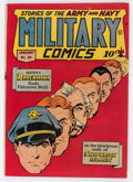 Golden Age (1938-1955):War, Military Comics #35 (Quality, 1945) Condition: FN....
