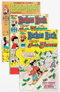 Bronze Age (1970-1979):Cartoon Character, Richie Rich and Jackie Jokers File Copies Box Lot (Harvey, 1976-82) Condition: Average NM-....