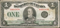 Canadian Currency: , DC-25o $1 1923.. ...