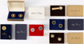 Political:Presidential Relics, Richard Nixon et al: Presidential Gift Cuff Links and Accessories....