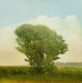 Fine Art - Painting, American:Contemporary   (1950 to present)  , Robert Marchessault (Canadian, b. 1953). Spring Tree. Oil onpanel. 12 x 12 inches (30.5 x 30.5 cm). Signed lower left: ...