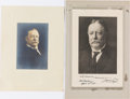Autographs:U.S. Presidents, William Howard Taft: Portraits Signed and Not Signed....