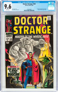 Silver Age (1956-1969):Superhero, Doctor Strange #169 (Marvel, 1968) CGC NM+ 9.6 White pages....