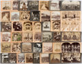 Political:Small Paper (1896-present), Grover Cleveland et al: Collection of Stereo Views....