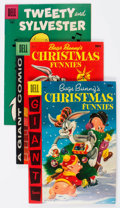 Golden Age (1938-1955):Cartoon Character, Looney Tunes and Merrie Melodies Related Comics Group of 31 (Dell,1950s-60s) Condition: Average VF.... (Total: 31 Comic Books)