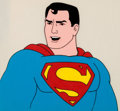 Animation Art:Production Cel, Superman/Aquaman Hour of Adventure Superman Production CelSetup (Filmation, 1967).... (Total: 4 )