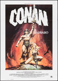 "Movie Posters:Action, Conan the Barbarian (Universal, 1982). Italian 2 - Fogli (39.25"" X55""). Action.. ..."