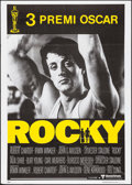 "Movie Posters:Academy Award Winners, Rocky (United Artists, 1977). Italian 2 - Fogli (39.5"" X 55""). Academy Award Winners.. ..."