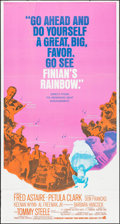 """Movie Posters:Fantasy, Finian's Rainbow & Other Lot (Warner Brothers, 1968). ThreeSheets (2) (41"""" X 77"""" & 41"""" X 79""""). Fantasy.. ... (Total: 2Items)"""