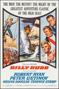 "Movie Posters:Adventure, Billy Budd & Other Lot (Allied Artists, 1962). One Sheet (27"" X41"") & Three Sheet (41"" X 79""). Adventure.. ... (Total: 2Items)"