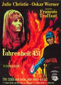 "Movie Posters:Science Fiction, Fahrenheit 451 (Universal International, 1967). French Grande (46""X 61""). Science Fiction.. ..."