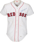 Baseball Collectibles:Uniforms, 1981 Carl Yastrzemski Game Worn Boston Red Sox Jersey. ...