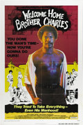 "Movie Posters:Blaxploitation, Welcome Home Brother Charles (Crown-International, 1975). One Sheet(27"" X 41""). While studying film at U.C.L.A., director J..."