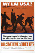"""Movie Posters:Drama, Welcome Home, Soldier Boys (20th Century Fox, 1972). One Sheet (27""""X 41""""). Joe Don Baker stars in this realistic and brutal..."""