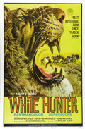 "Movie Posters:Adventure, White Hunter (Herts-Lion International, 1964). One Sheet (27"" X41""). George Michael wrote, directed and starred with his wi..."