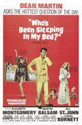 "Movie Posters:Comedy, Who's Been Sleeping in My Bed? (Paramount, 1963). One Sheet (27"" X 41""). This 60s sex comedy is anchored by Dean Martin as J..."