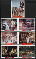 "Movie Posters:Adventure, Spartacus (Universal International, 1960). Deluxe Lobby Cards (7) (11"" X 14""). Historical Adventure. ... (Total: 7 Items)"